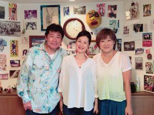 赤井英和さんと奥様と深井仁美